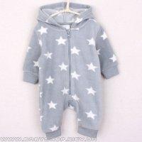 Флисовый комбинезон Topolino Mini (серый со звёздами) c1b3a8ee0b7bd