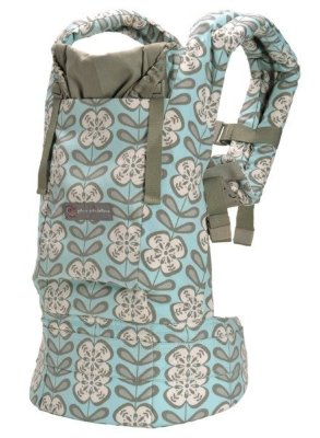 ERGObaby Carrier Organic Petunia Pickle Bottom Peaceful Portofino