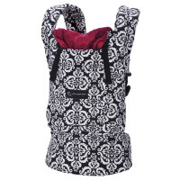 ERGObaby Carrier Organic Petunia Pickle Bottom Frolicking in Fez