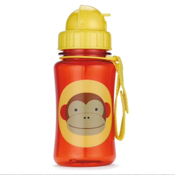 Поильник Skip Hop Zoo Straw Bottle Обезьянка