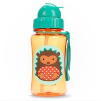 Поильник Skip Hop Zoo Straw Bottle Ёжик