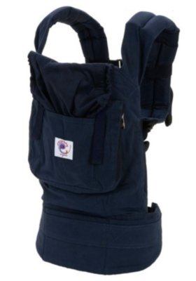 ERGObaby Carrier Organic Twill Navy with Midnight Lining