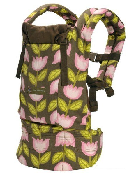 ERGObaby Carrier Organic Petunia Pickle Bottom Heavenly Holland